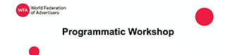 WFA Programmatic Workshop